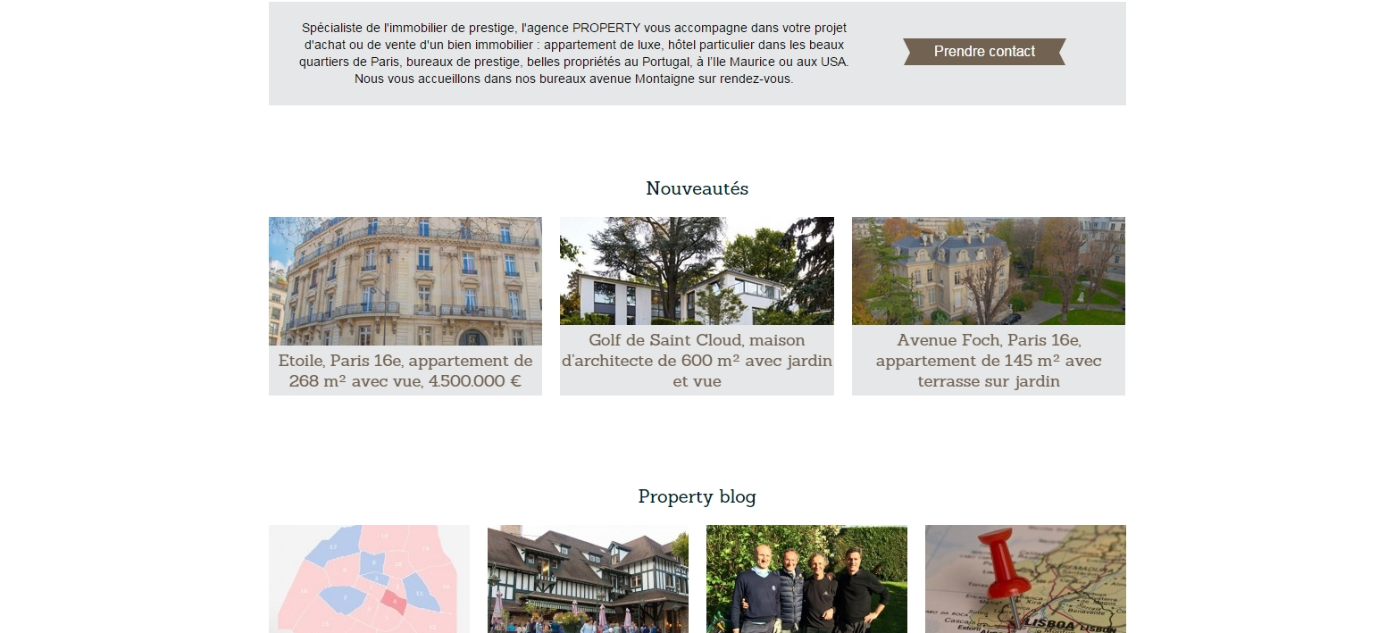 Property Premium - Version anglaise