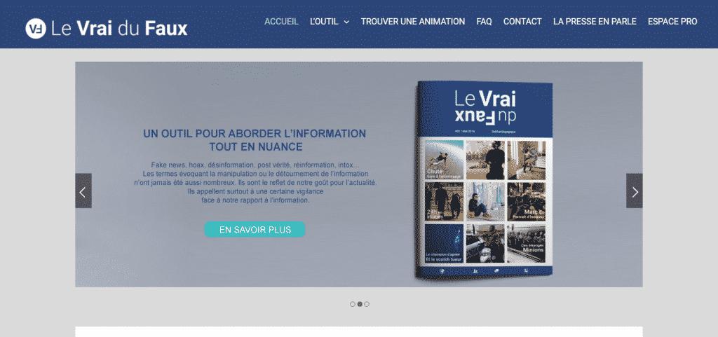 Site web : Le Vrai du Faux