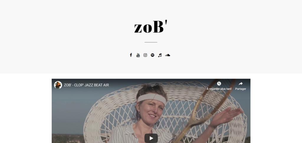 Site web : ZoB'
