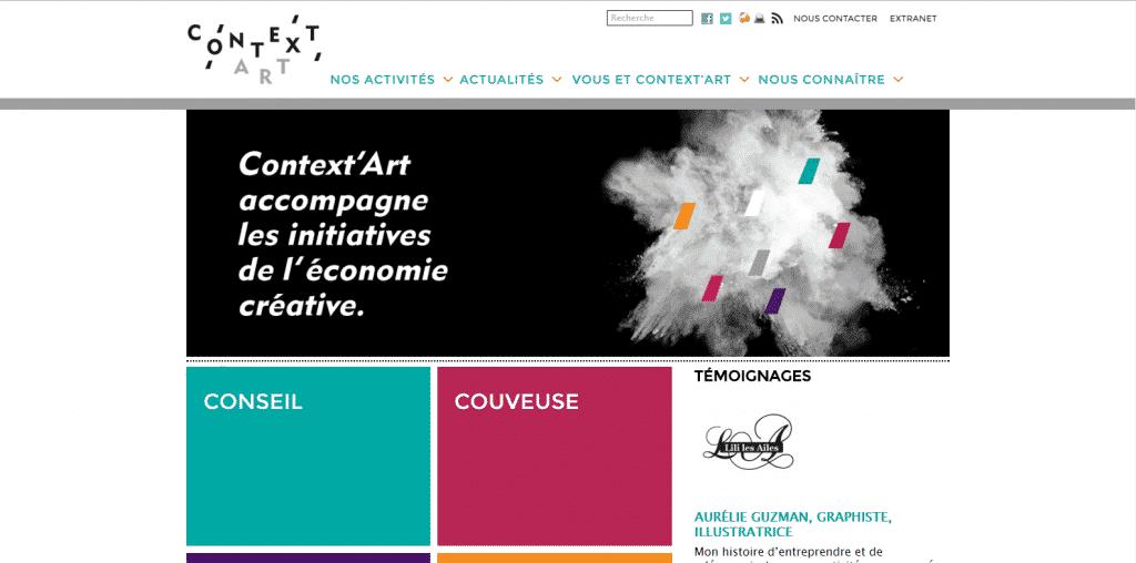 Site web : Context'Art